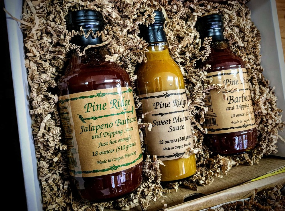 Pine Ridge BBQ & Dipping Sauce Gift Sets