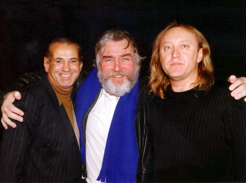 Cu Gheoghe ZAMFIR si Adrian PAUNESCU - Emisiunea 'Schimbul de noapte' (dec. 1998)