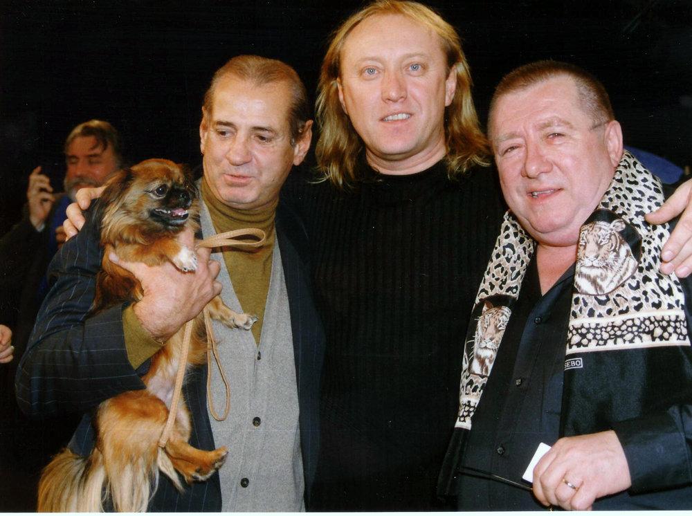 Cu Gheoghe ZAMFIR si Dumitru FARCAS - Emisiunea 'Schimbul de noapte' (dec. 1998)