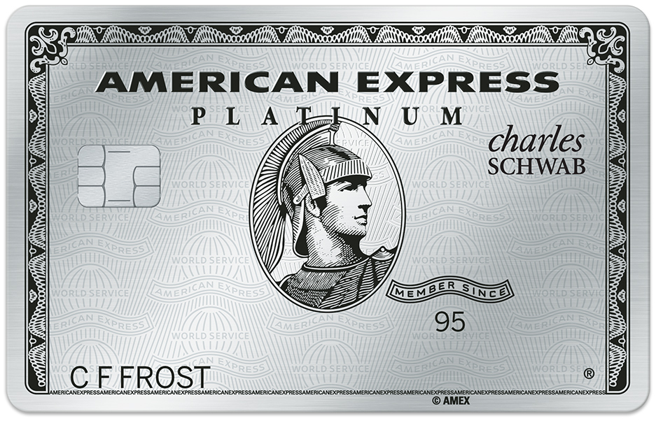 The Charles Schwab Platinum Amex is a game changer    or at