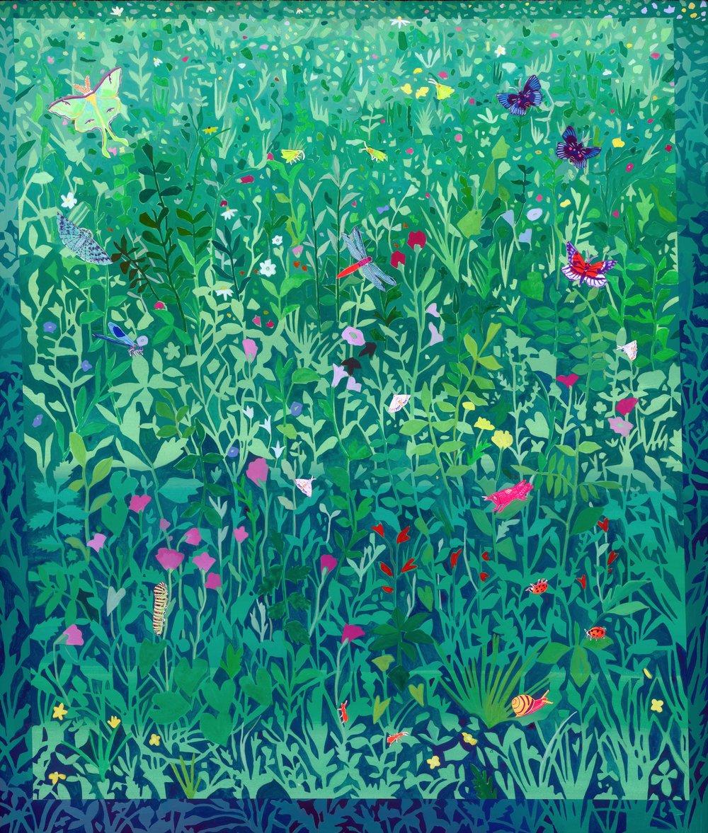 Green Garden Walls