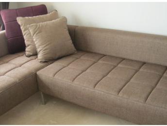 Metal Leg Sofa -