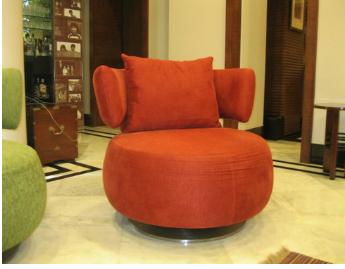 Maheshwari Swivel Chair -