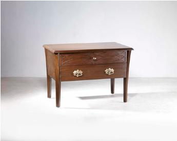 Johnson Master Bedside Table -