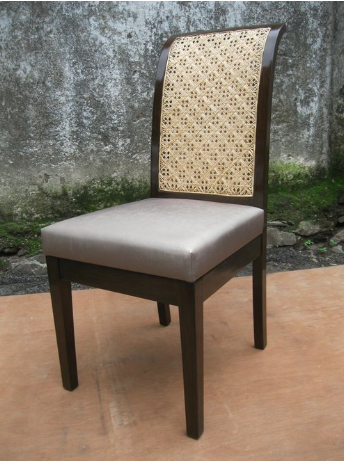 Cane Back Dining Chair -