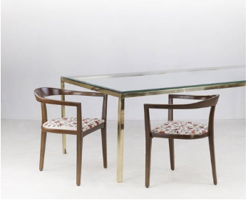 Brass Dining Table -