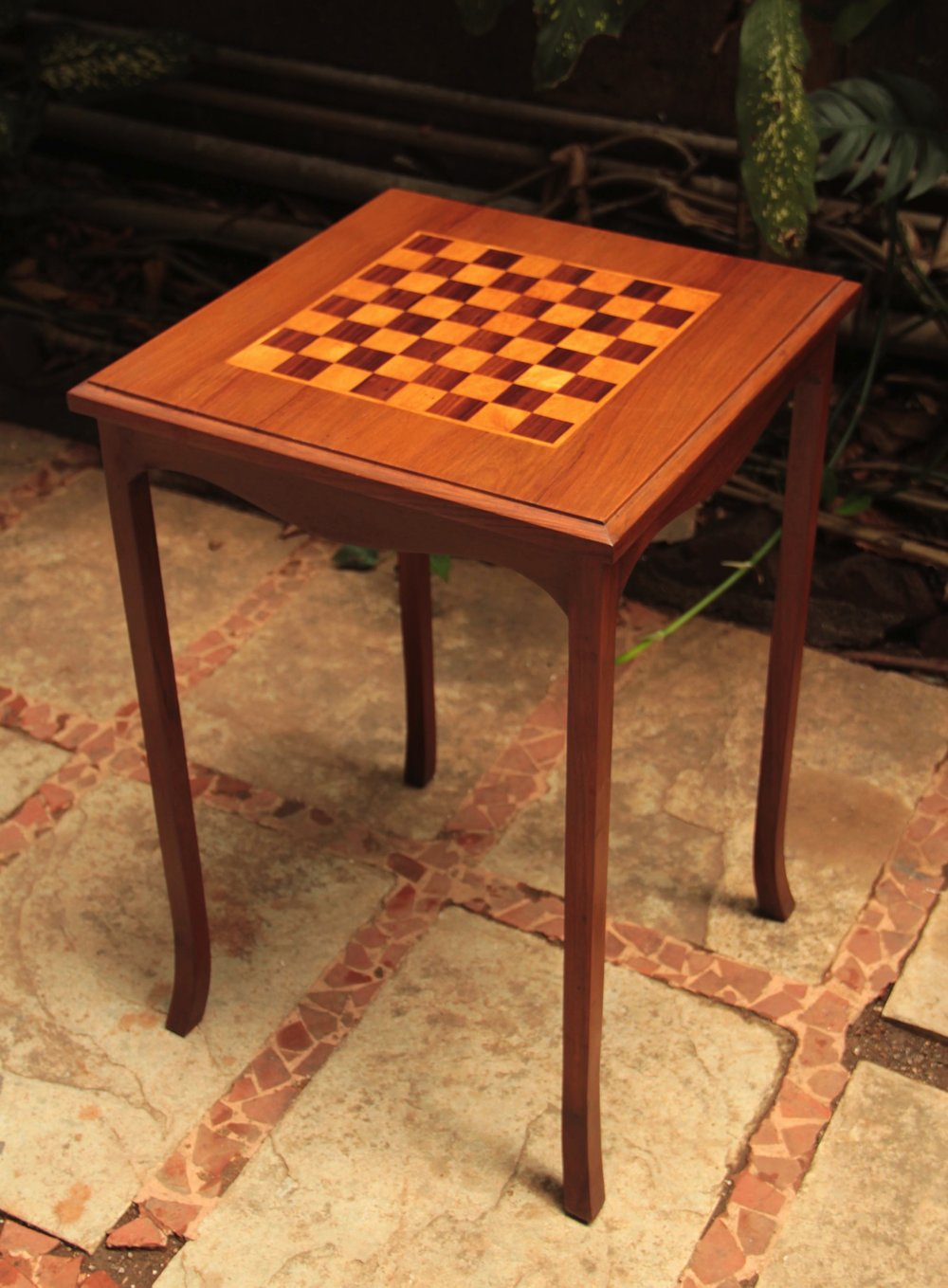 Chess Side Table -