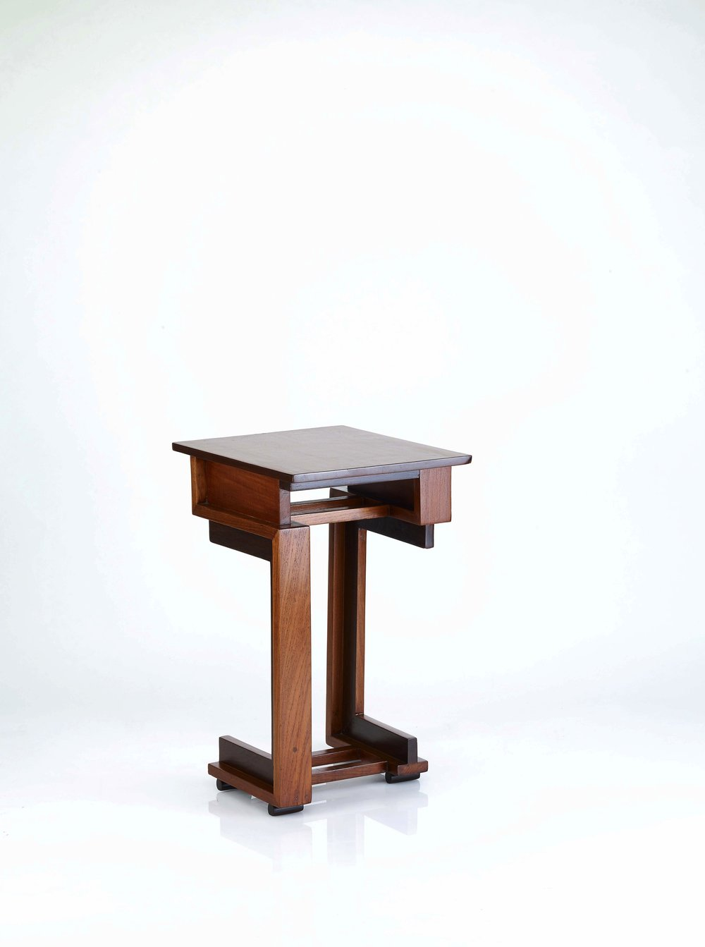 Deco Square Side Table -