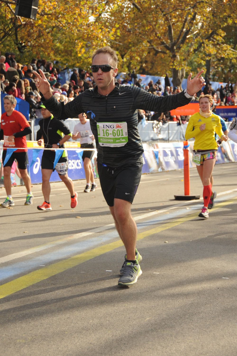 Matt NYC Marathon 2013 - Fitter, Skinnier and Healthier.