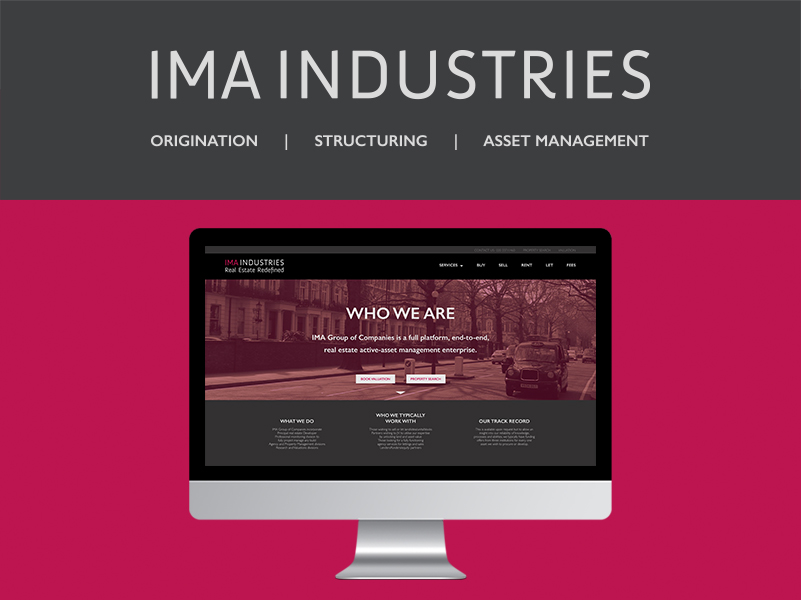 SEE BRAND IDENTITY  FROM IMA INDUSTRIES