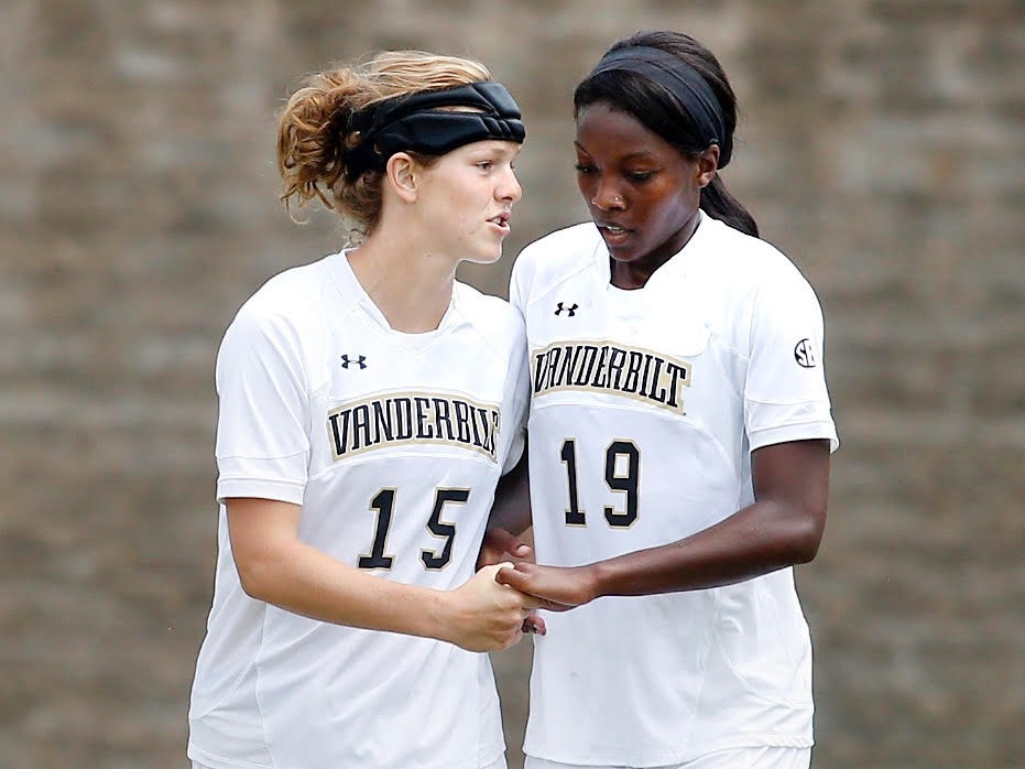 """Aby Carr Paulson - Vanderbilt Soccer, 2011-2014""""My college soccer career had several ups and downs. I would have struggled to find purpose in it all had it not been for WhoUWith? leading me closer to Christ along the way. The foundation of faith in my life laid through the impact of WhoUWith? has carried well beyond my time at Vanderbilt into my career, friendships, and most recently, my marriage."""""""