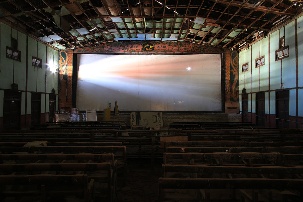 The Aung Tha Pyae Cinema  (Yemethin, Mandalay Region, Myanmar)