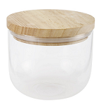 Kmart small glass canister