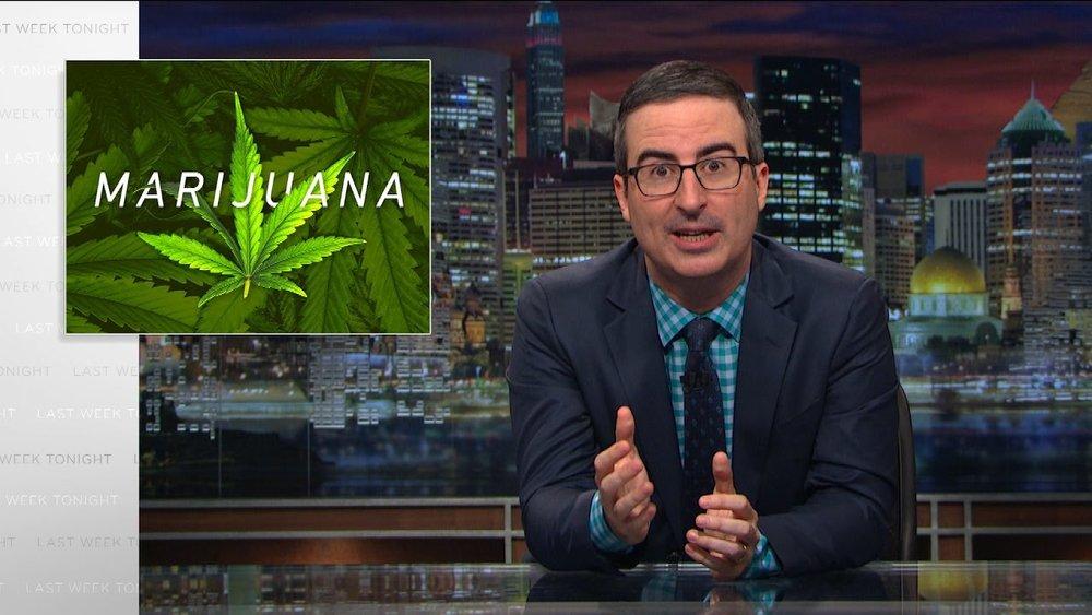 Image: Marijuana: Last Week Tonight with John Oliver (HBO)