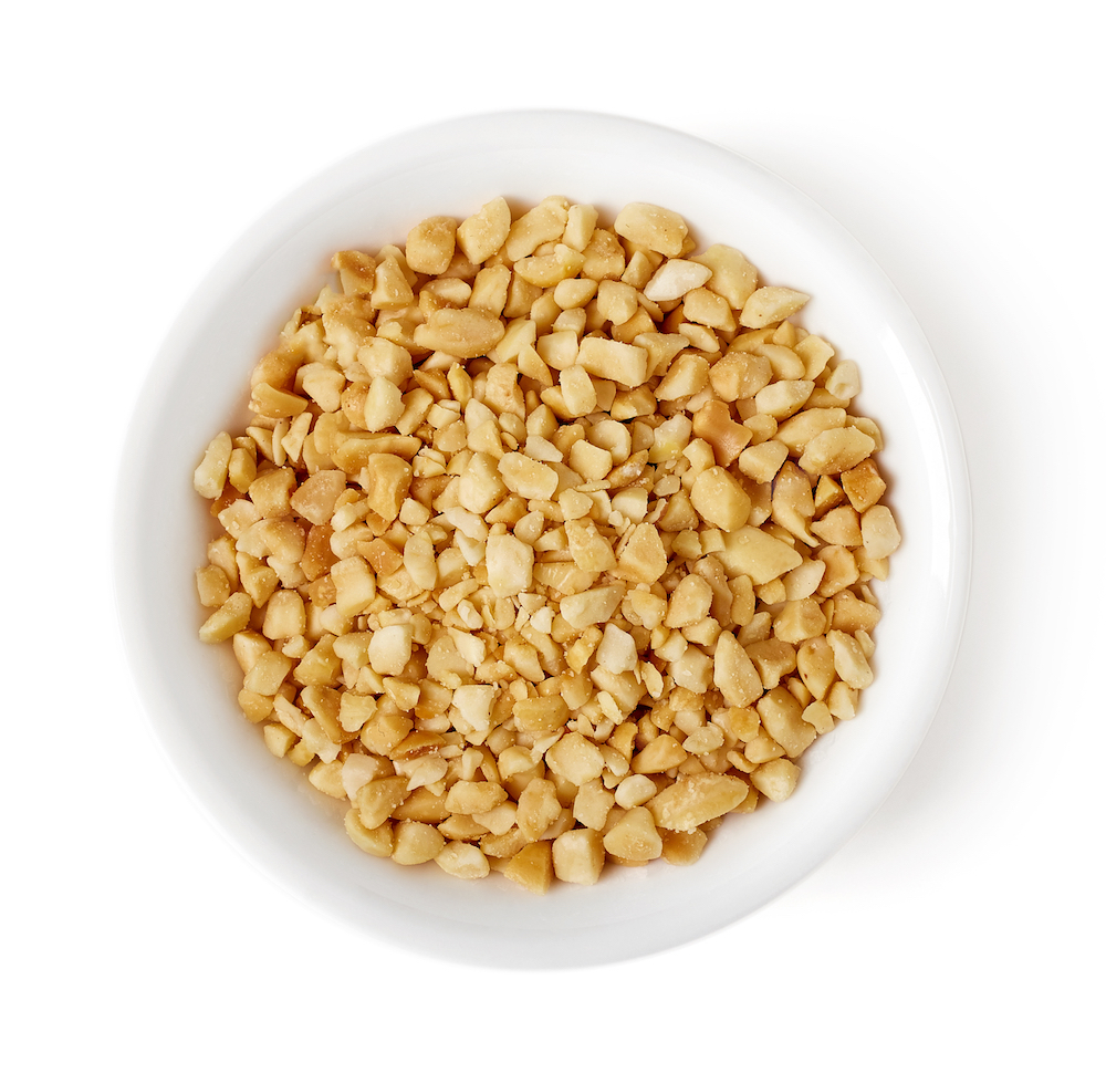 """Peanuts - For the household to be filled with valuable possessions - 金银满屋 (Jin Yin Man Wu) meaning, """"Household filled with gold and silver""""."""