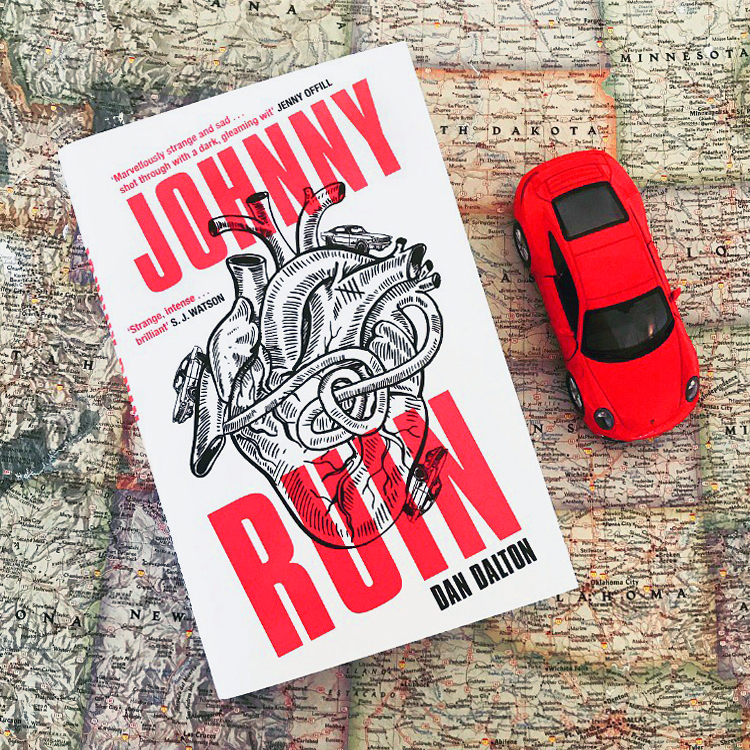 Johnny Ruin - Haunted by a recent heartbreak and the idea that he is somehow broken, the narrator – a depressed, heartbroken, thirty-something writer – embarks on a journey through his own mind with his spirit guide, Jon Bon Jovi, for company.