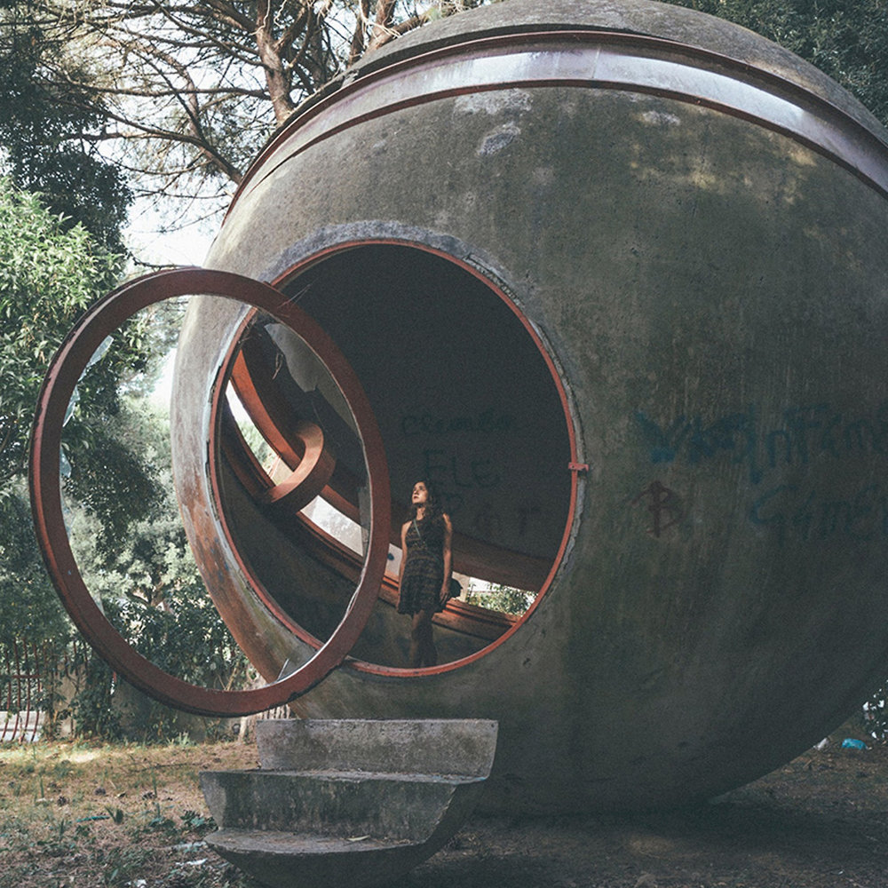 Casa Sperimentale , designed byGiuseppe Perugini.Credit: Oliver Astrologo    via