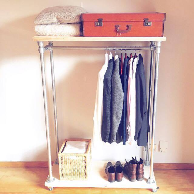 I Built a Goddamn Clothes Rail (Because Wardrobes Are Evil)    Feast upon this minimal, Pinterest-friendly furniture design, demons.