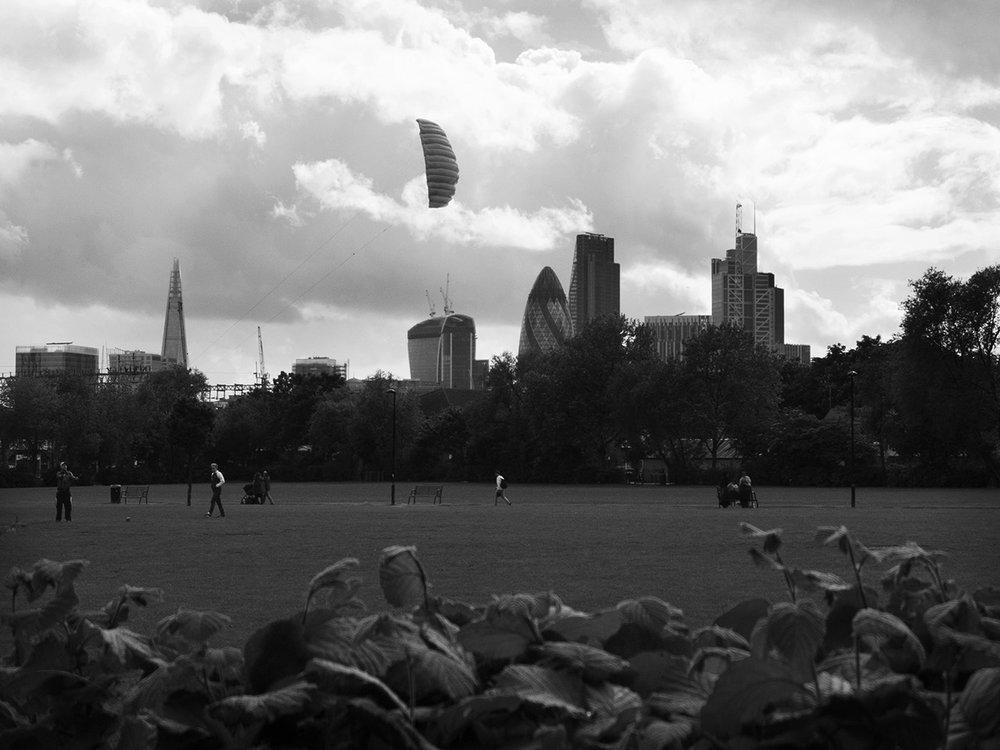 Weavers Fields, Bethnal Green, London.