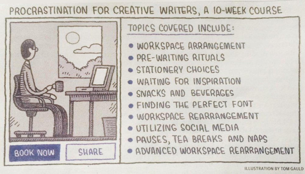 From yesterday's Guardian, by   Tom Gauld .