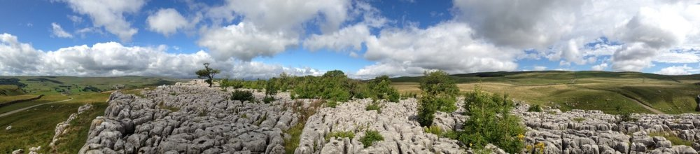 Limestone Pavement, Yorkshire Dales, Northern England