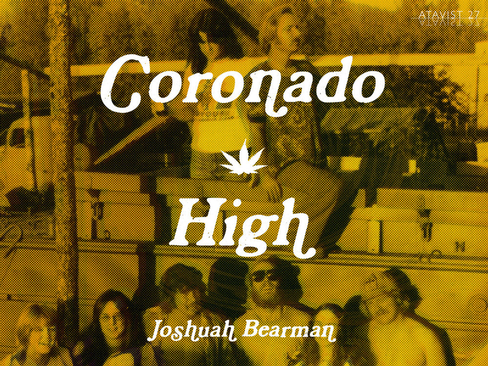 "Friday Reads:  Coronado High  by Joshuah Bearman    ""Nobody would've figured the kids from the sleepy beach town of Coronado, California, for criminal masterminds. Within a decade, however, the Coronado Company had become the largest pot-smuggling operation on the West Coast, a $100 million empire with outposts from Mexico to Thailand. And sitting at the top of it all was the most improbable of kingpins: Lou Villar, a former Spanish teacher at Coronado High School.""   via  The Atavist"