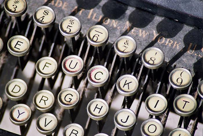 """Writing for a living fucking sucks ."""