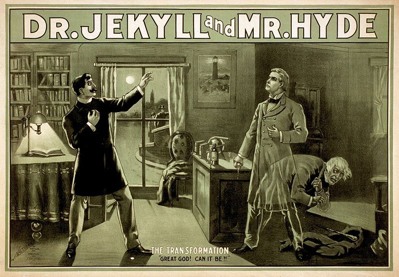 Fun Fact: Robert Louis Stevenson composed the first draft of Dr. Jekyll and Mr. Hyde in three days while high on cocaine, burned the manuscript after his wife read it, and then took six days to rewrite it.   (via narrativemag )