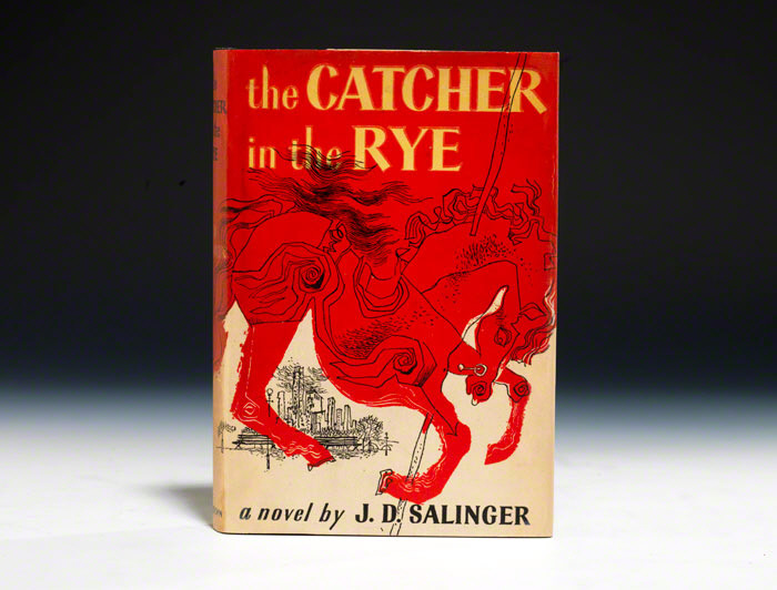 Happy Birthday Catcher In The Rye!    First published today in 1951, it has been translated into almost every language and has sold in excess of 65 million copies.   Nothing phony or crummy about that…