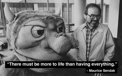 Maurice Sendak (1928 - 2012)    Rest in peace.