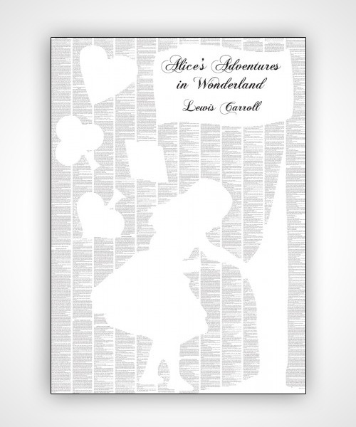 Alice's Adventures In Wonderland poster by Spineless    Birthday present 2 from my wife - the entire Alice In Wonderland on a poster! This is amazing! Amazing!