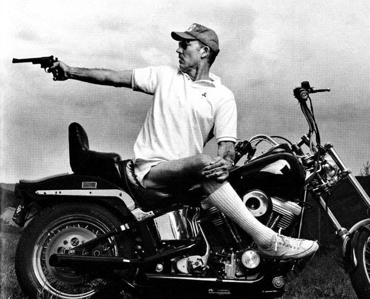 "millionsmillions :     ""I have a theory that the truth is never told during the nine-to-five hours.""   —  Hunter S. Thompson"