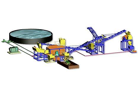 mining plant model