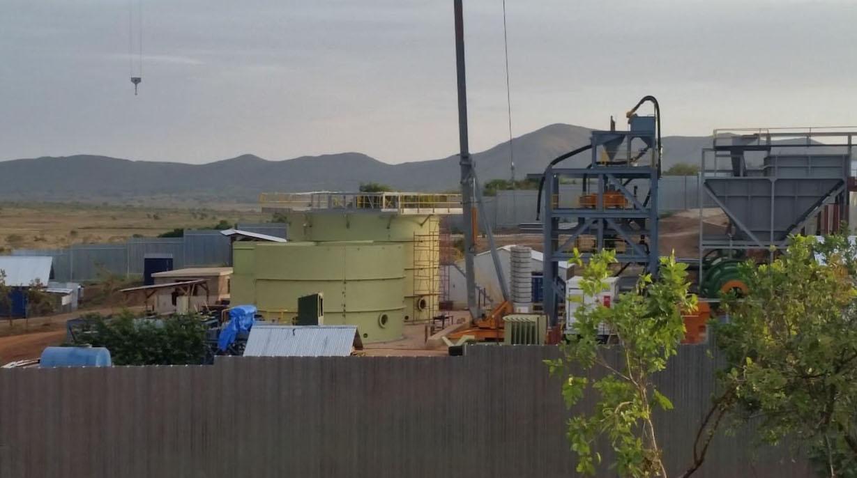 APT TriTank Modular CIL Plant