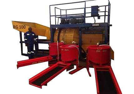 RG100C Alluvial Gold Recovery Plant