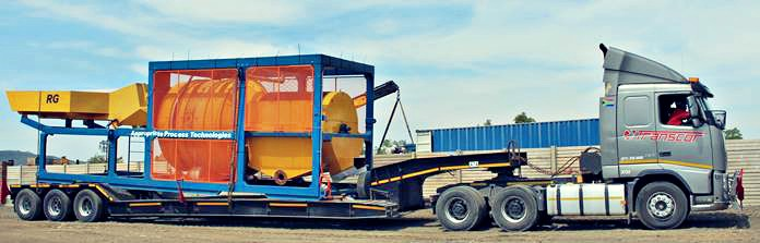 Transporting Modular Mining Equipment