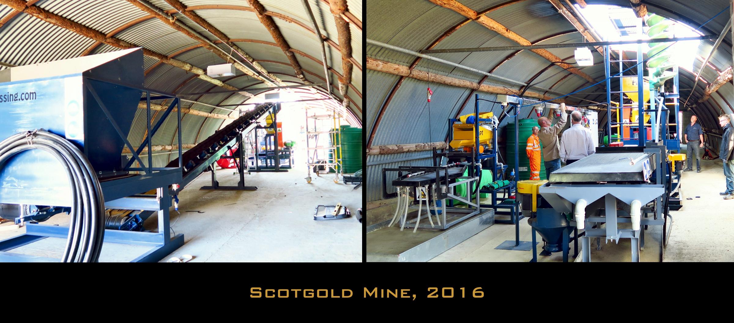 scotland mining