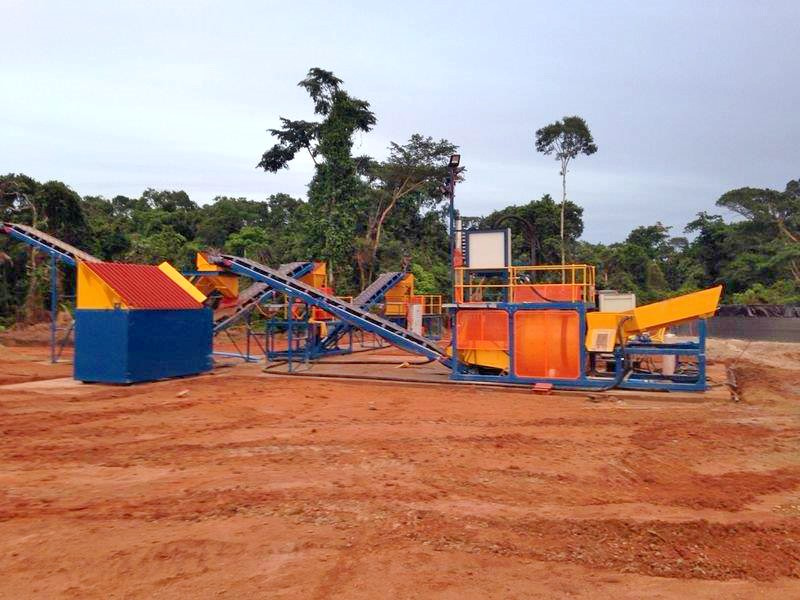 gem stone mining equipment