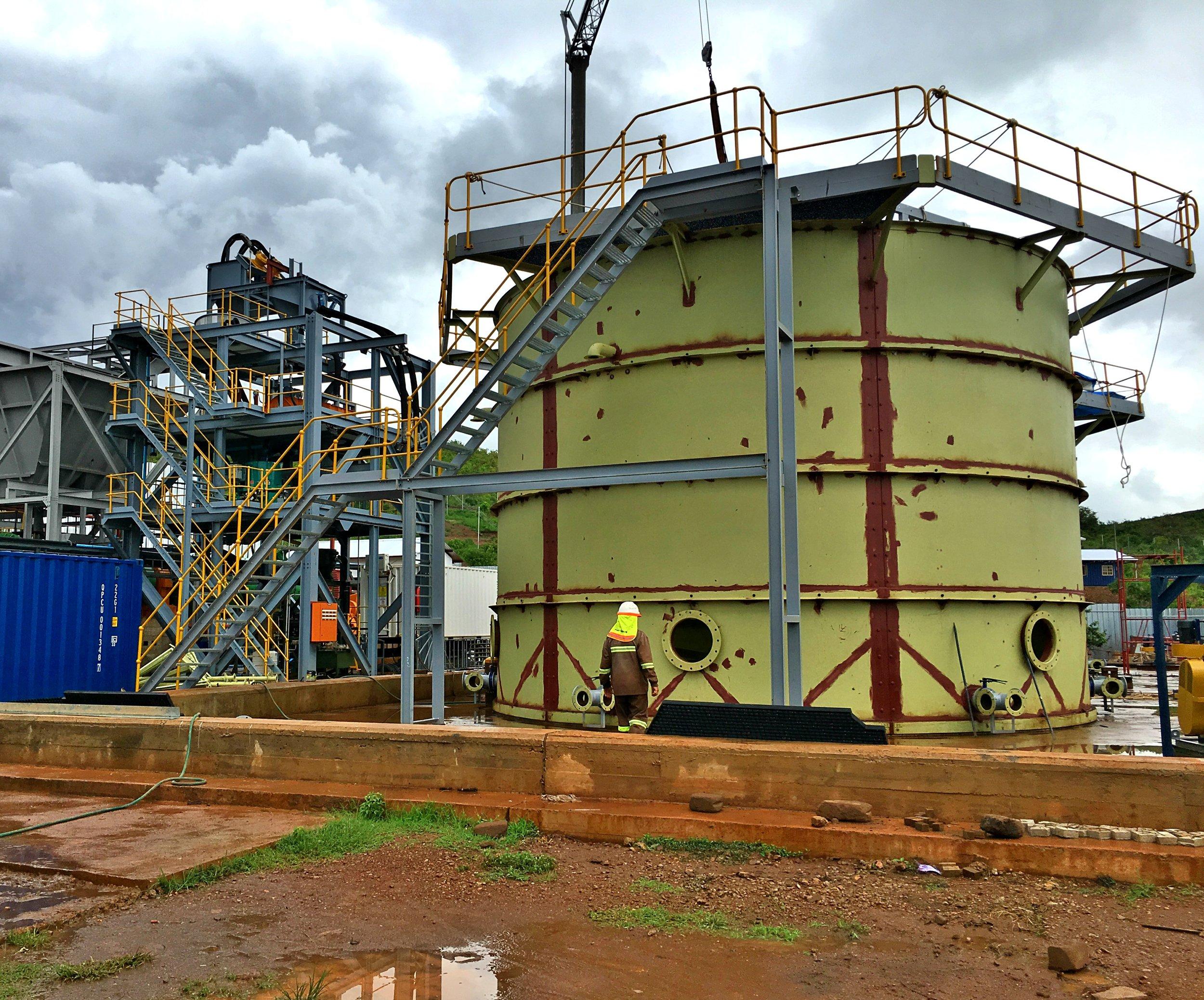 cyanidation mining equipment cata mine tanzania