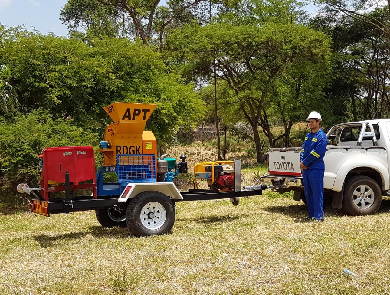 mobile mining equipment