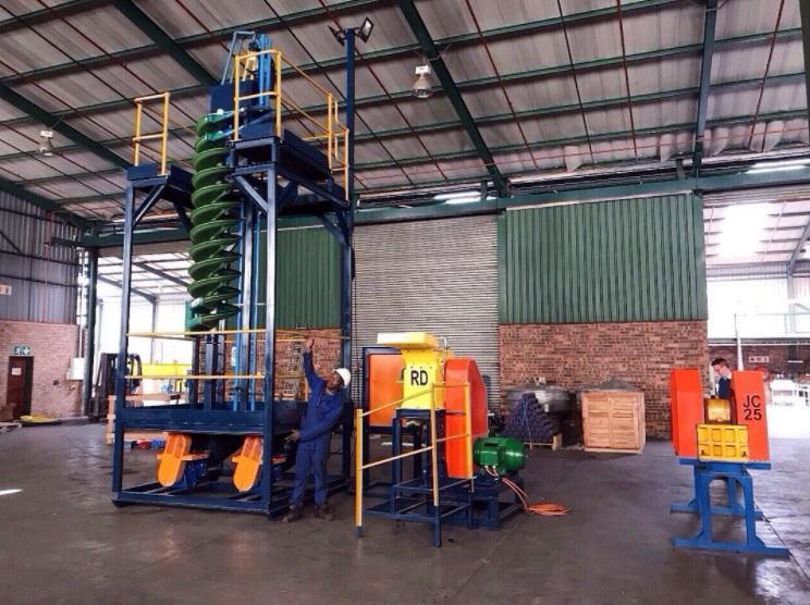 hard rock processing plants
