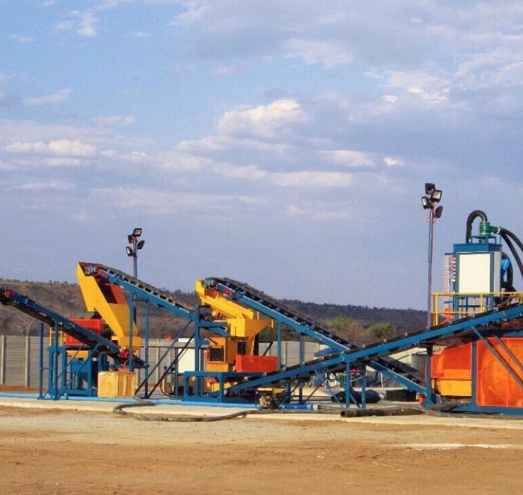 mining crushers