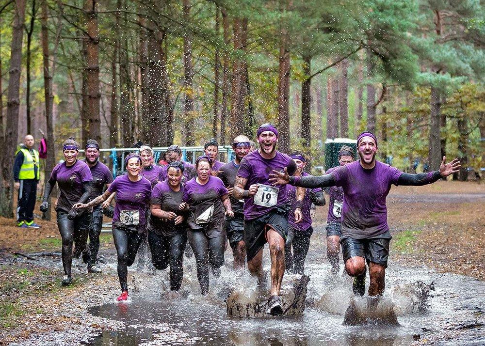 Mud Run Team