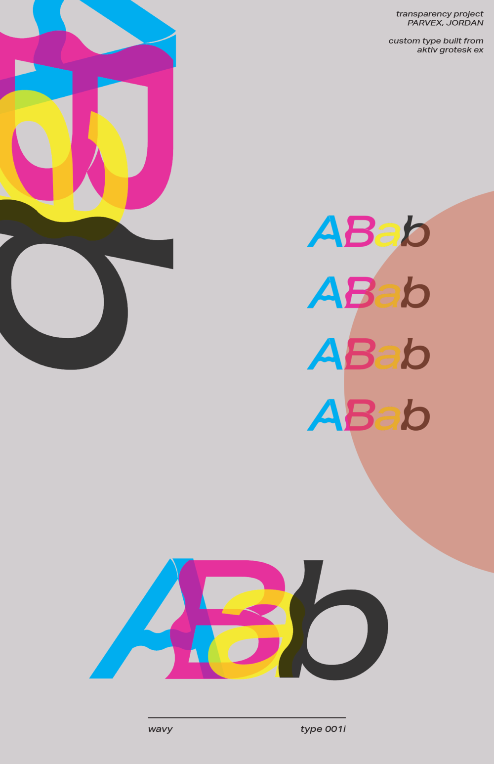 Custom Type & Transparency
