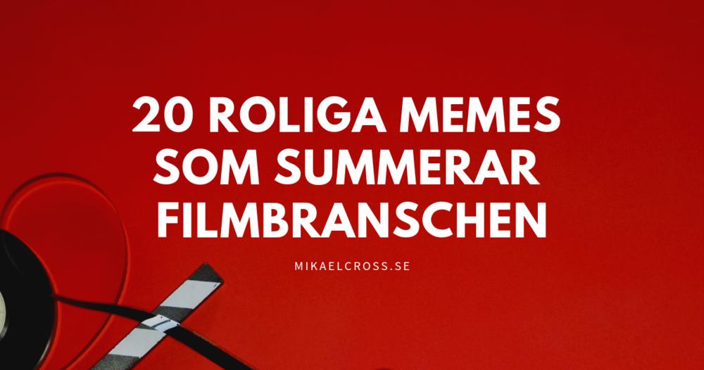 roliga memes filmbransch