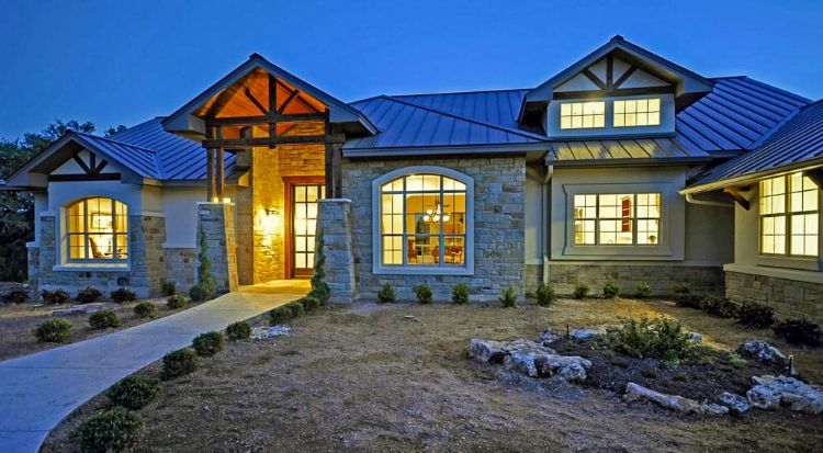 estates of westlake - Urban Hill Country home