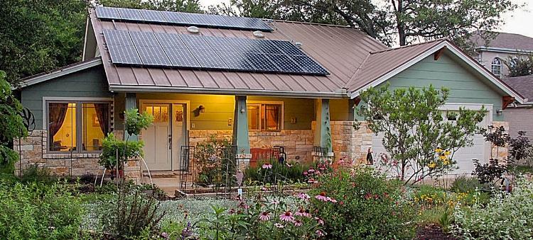 round rock star - Zero energy home