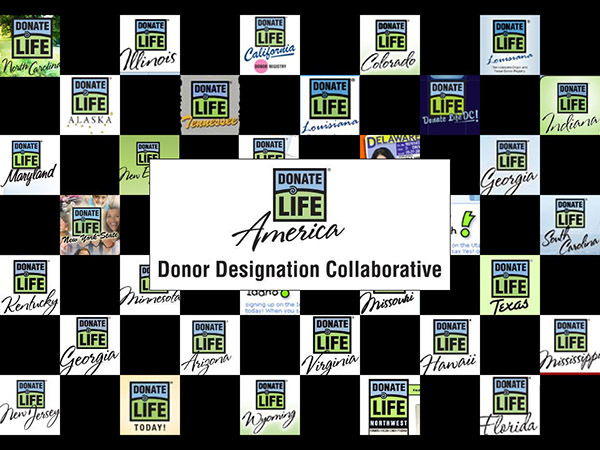 By 2012, the vast majority of state donor registries adopted Donate Life as their master brand.