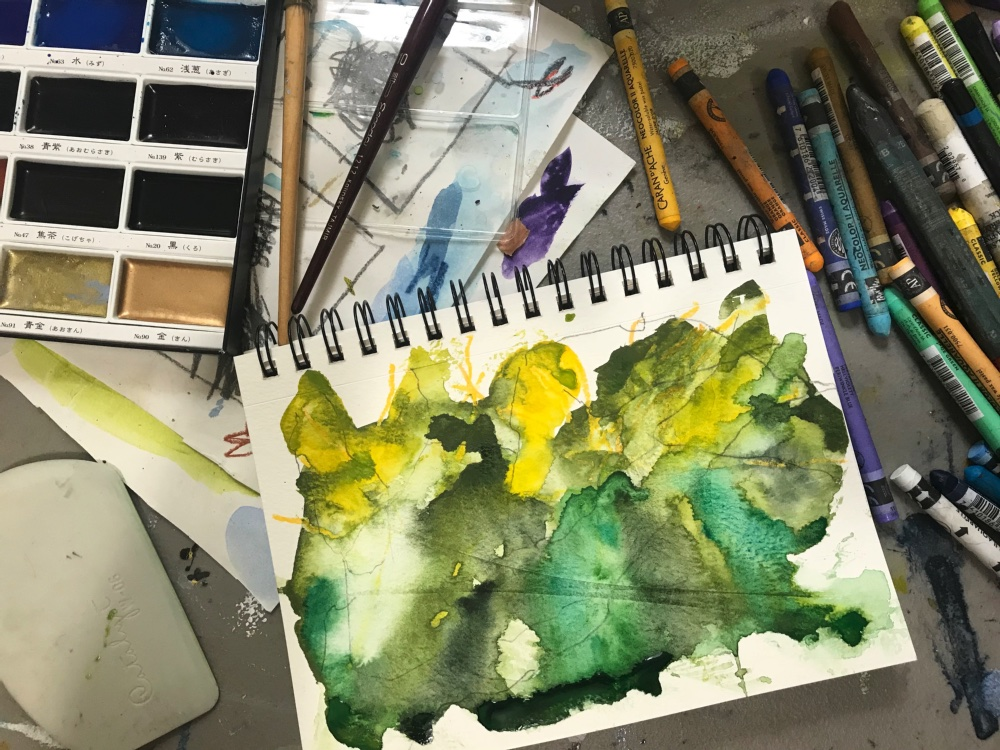 Water Media Sketchbook | Kira Elliott Studio