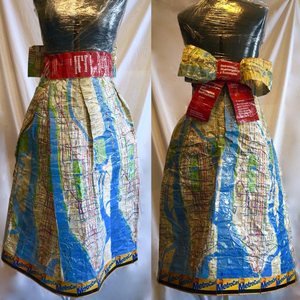 Metro Card Dress By Renée Nicole Creations
